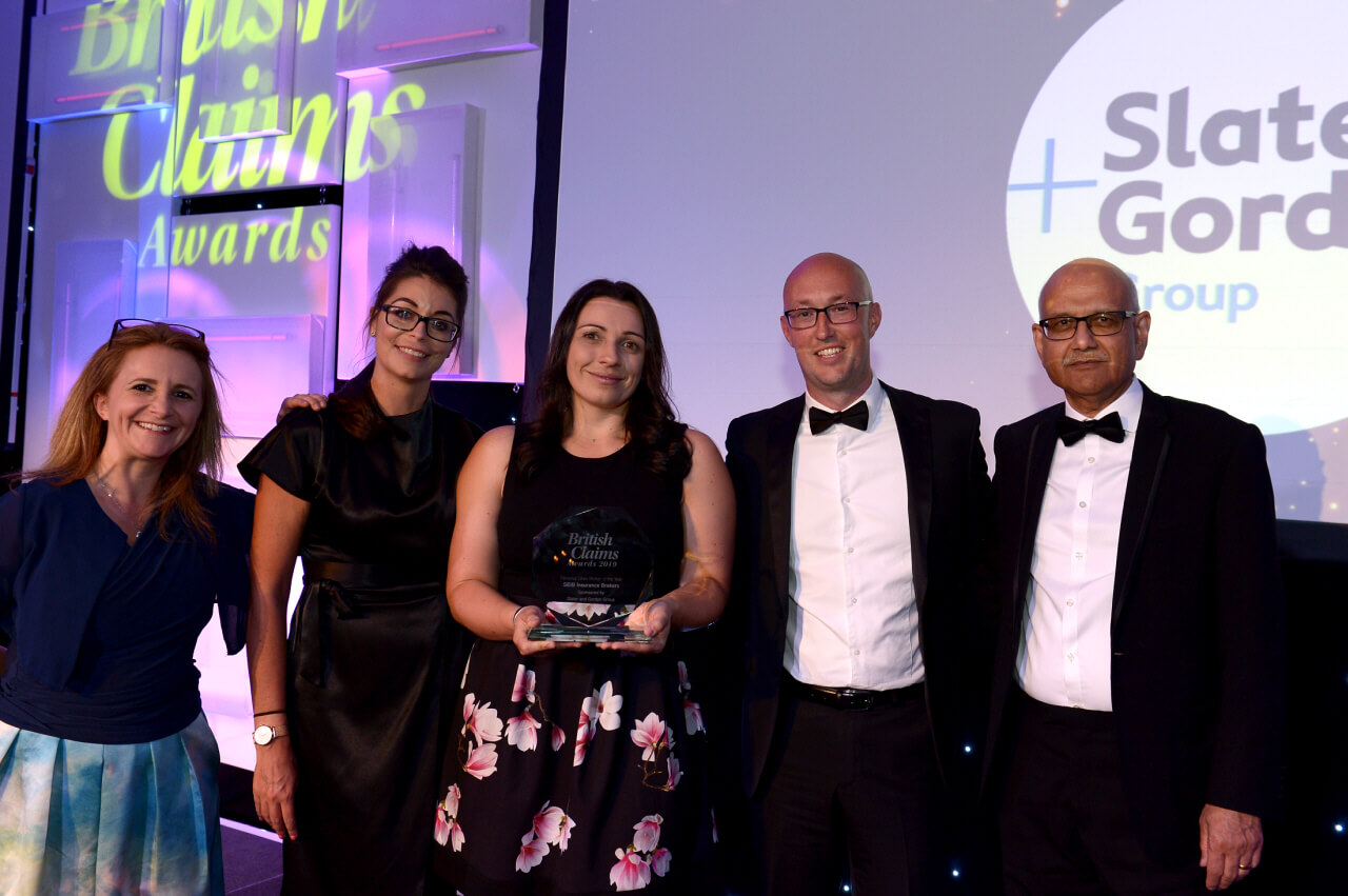 British Claims Awards Team Photo