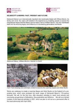 Kelmscott Manor July Project Update